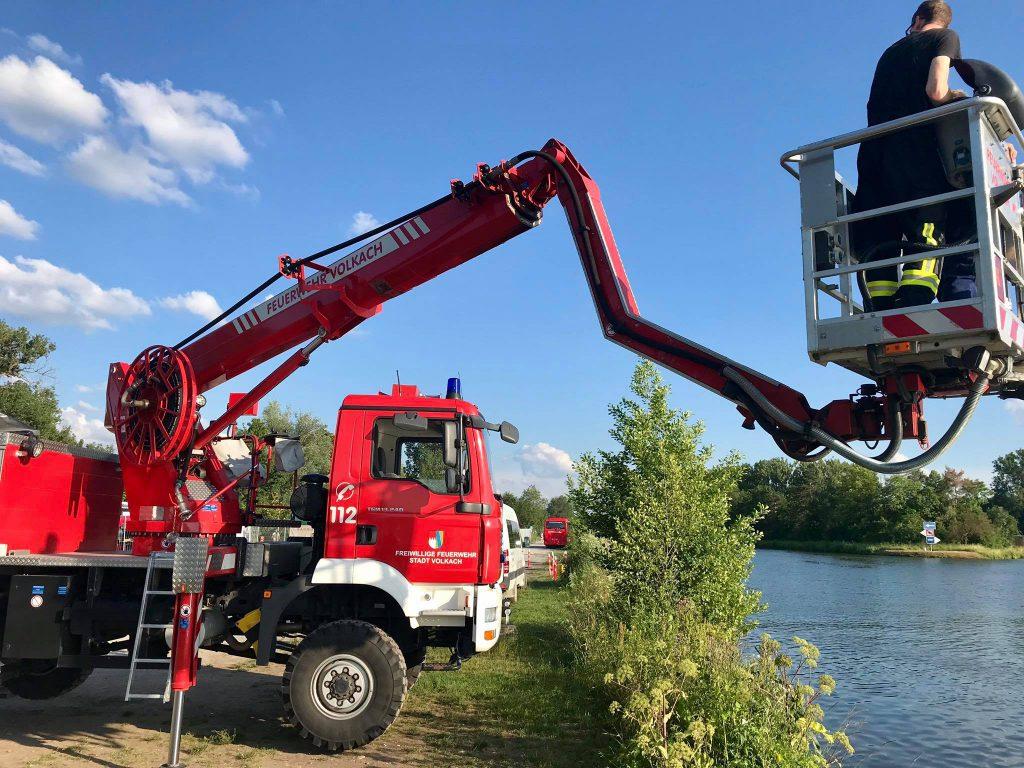 Feuerwehr Volkach Boot 3